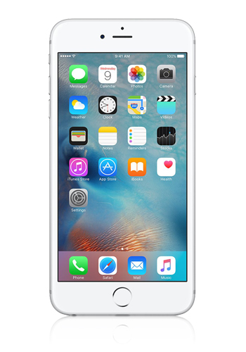Apple iPhone 6S Plus silber