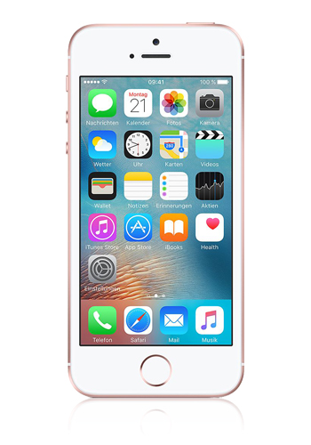 Apple iPhone SE roségold