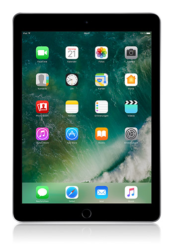Apple iPad (2017) 128 GB space grau
